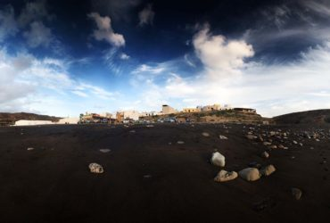 Fuerteventura in wide angle