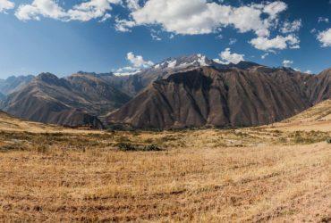 South American panorama from Peru