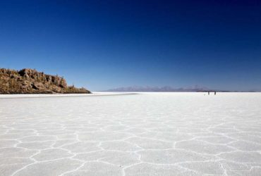 Salar Uyuni, the world's largest salt flat