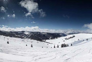 Winter panorama from Colorado