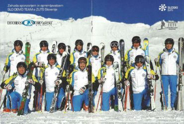 Ski Association of Slovenia – Booklet 2013