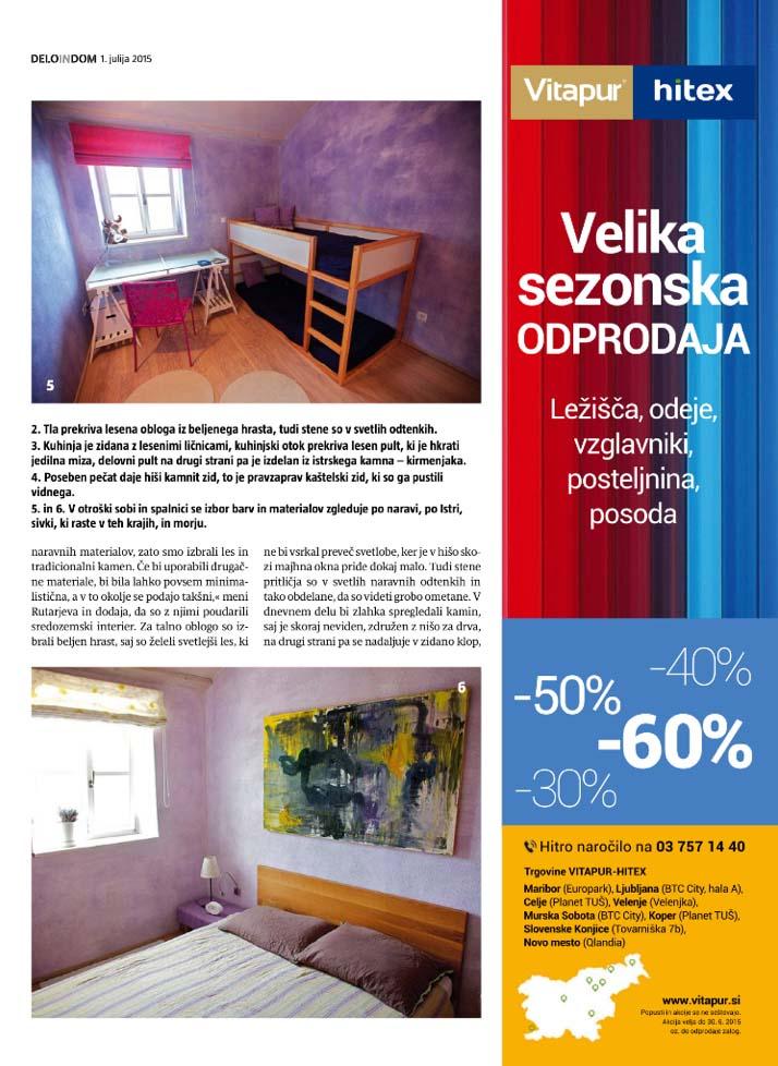 Delo In Dom - Habitare - Vrsar 4