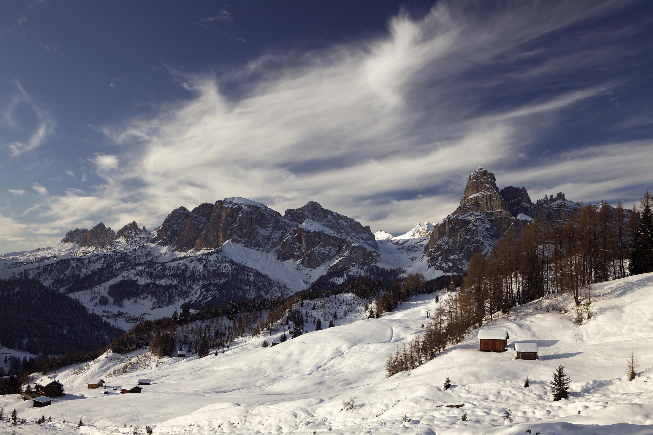 Dolomites, Corvara, Italy