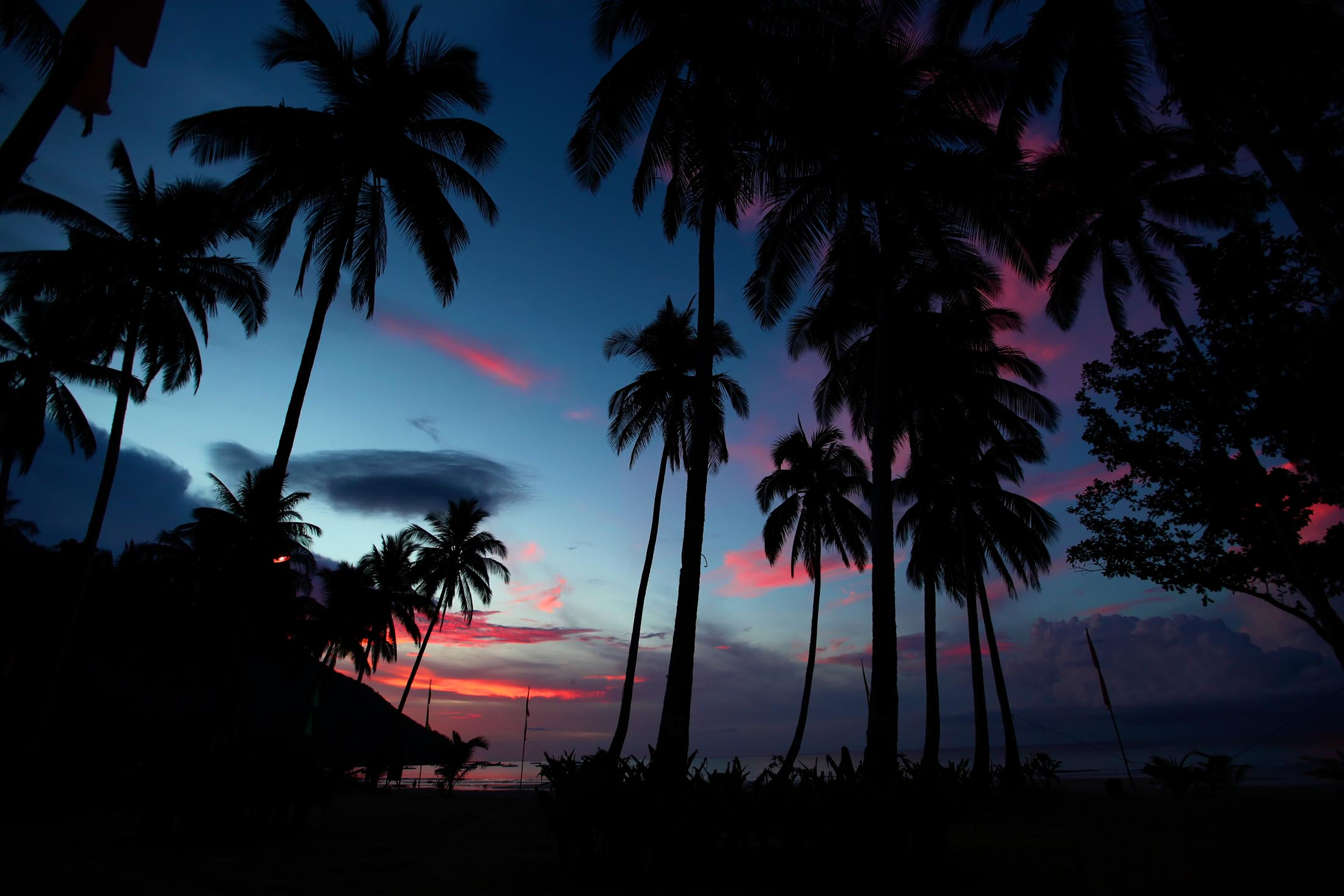 Sunset on Palawan, Philippines
