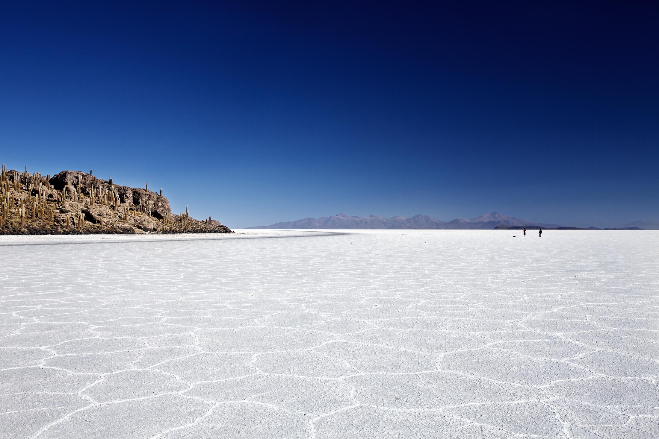 <p>Salar Uyuni, Bolivia</p>