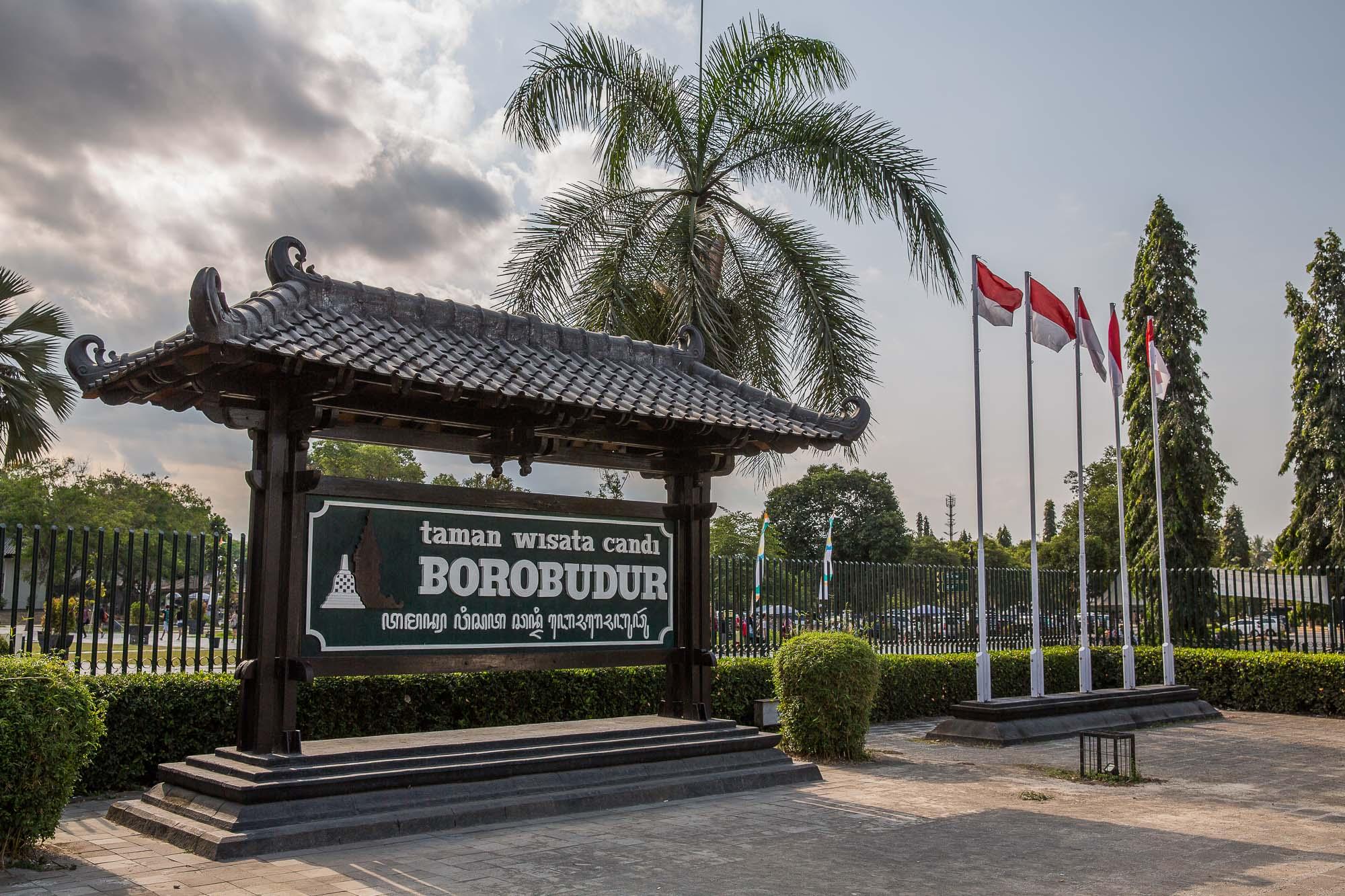 Borobudur main entrance