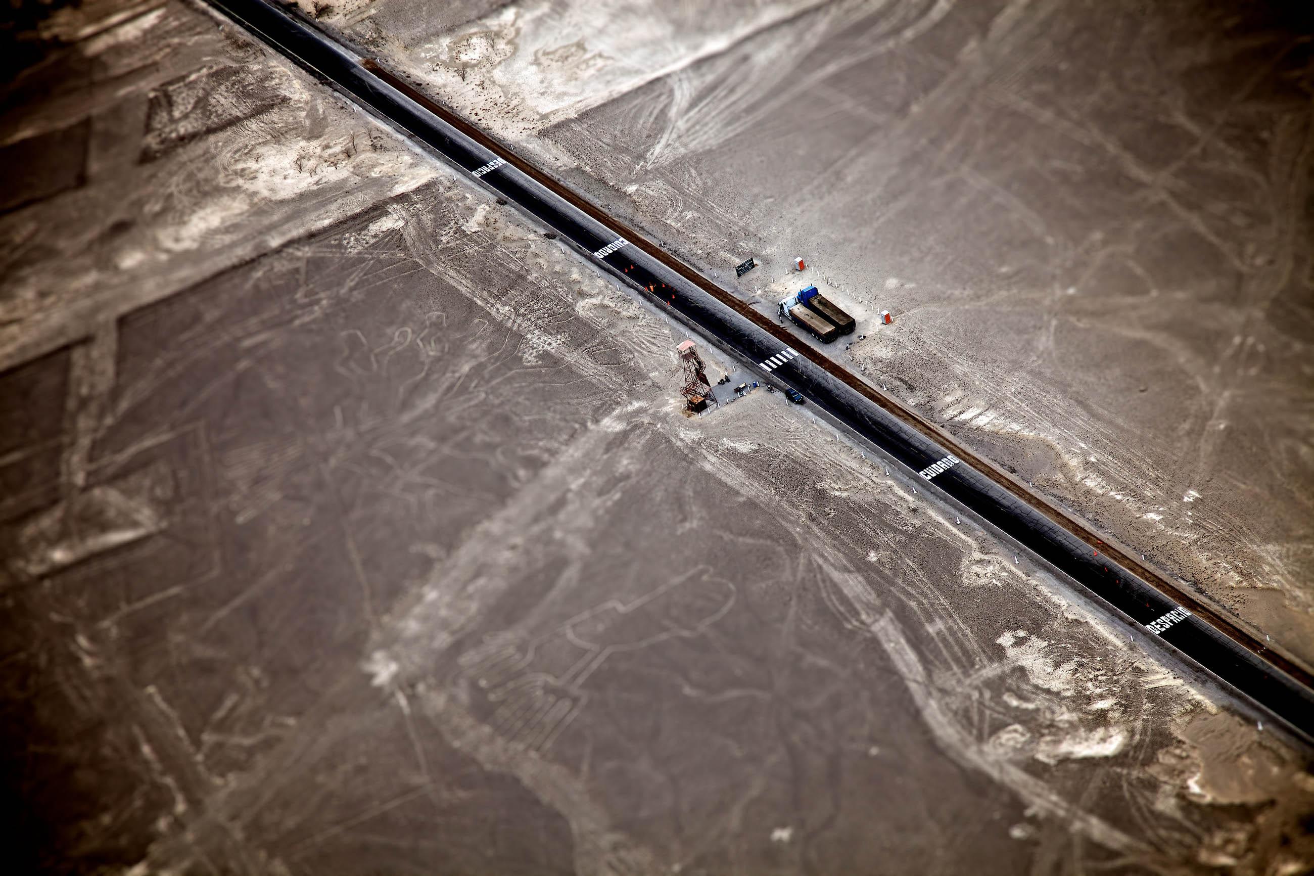 <p>Nazca lines, Peru</p>