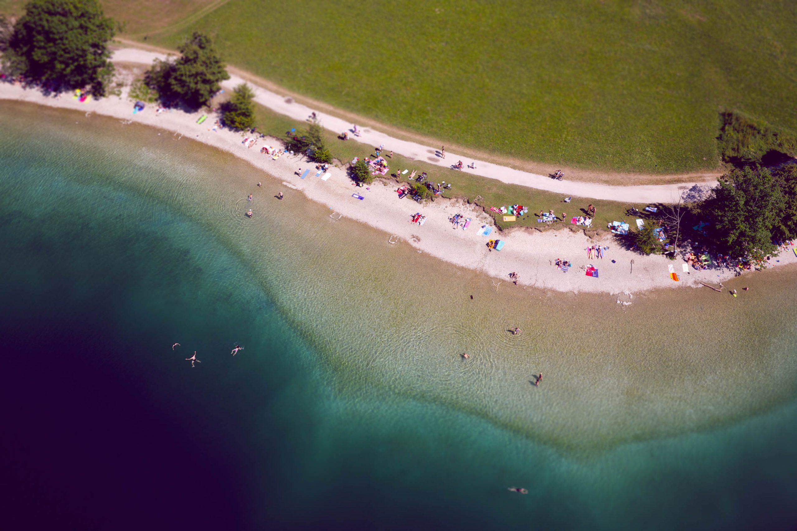 <p>Lake Bohinj, Slovenia</p>