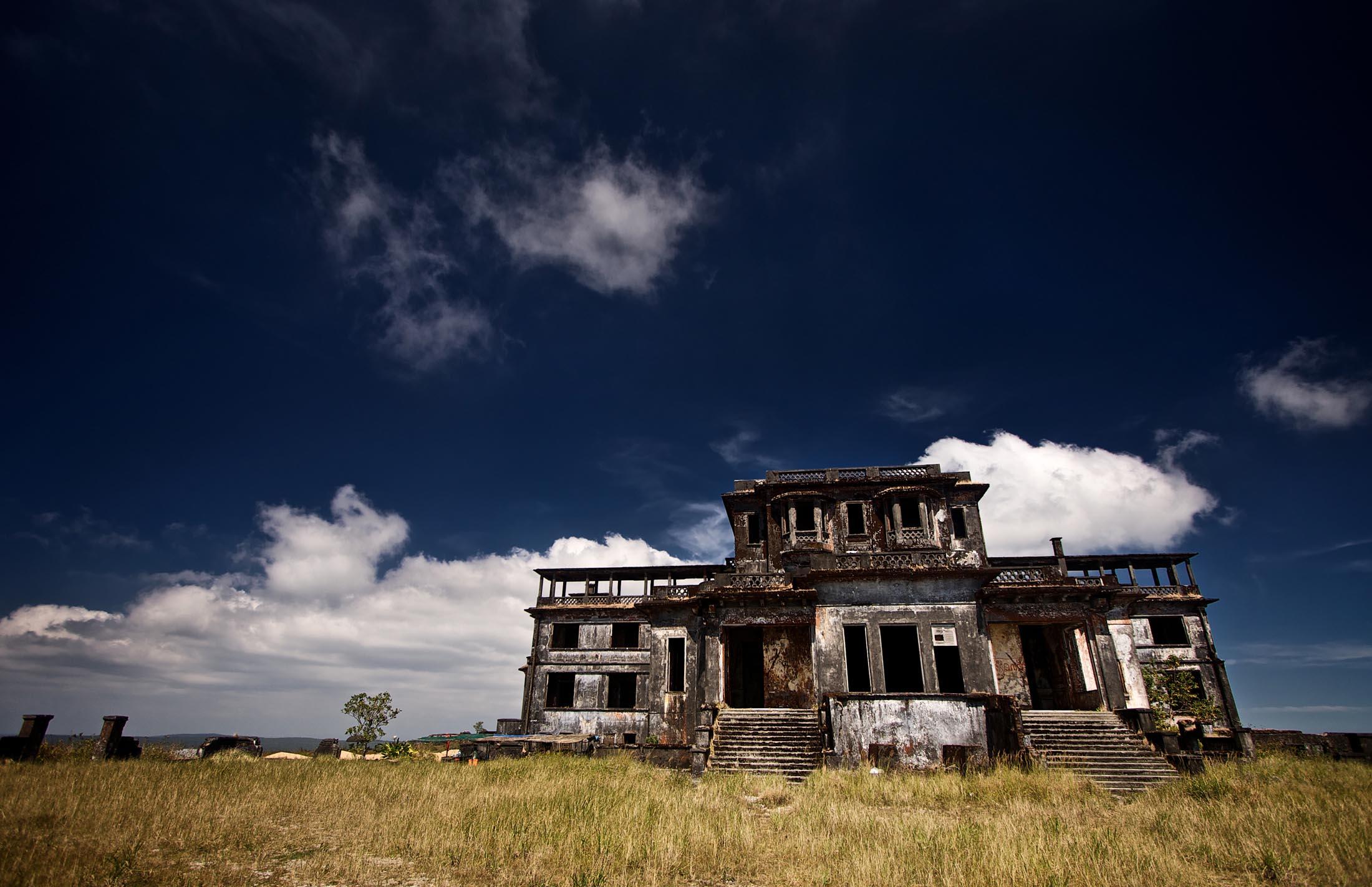 Deserted Casino, Cambodia