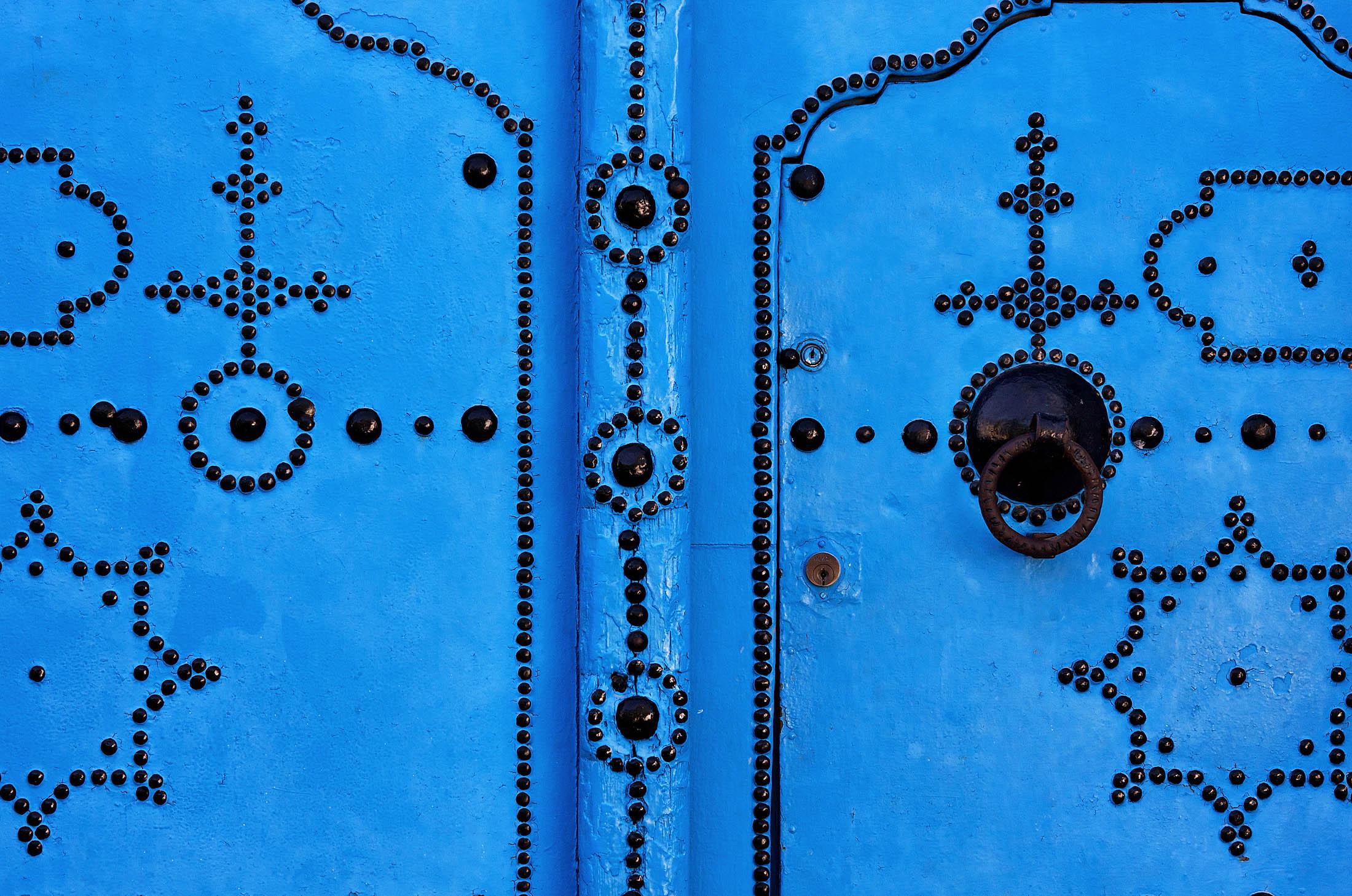 Door in Tunisia