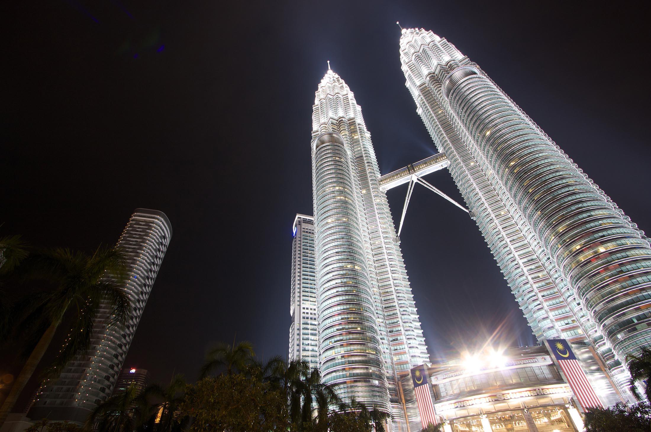 The Petronas Twins, Kuala Lumpur, Malaysia