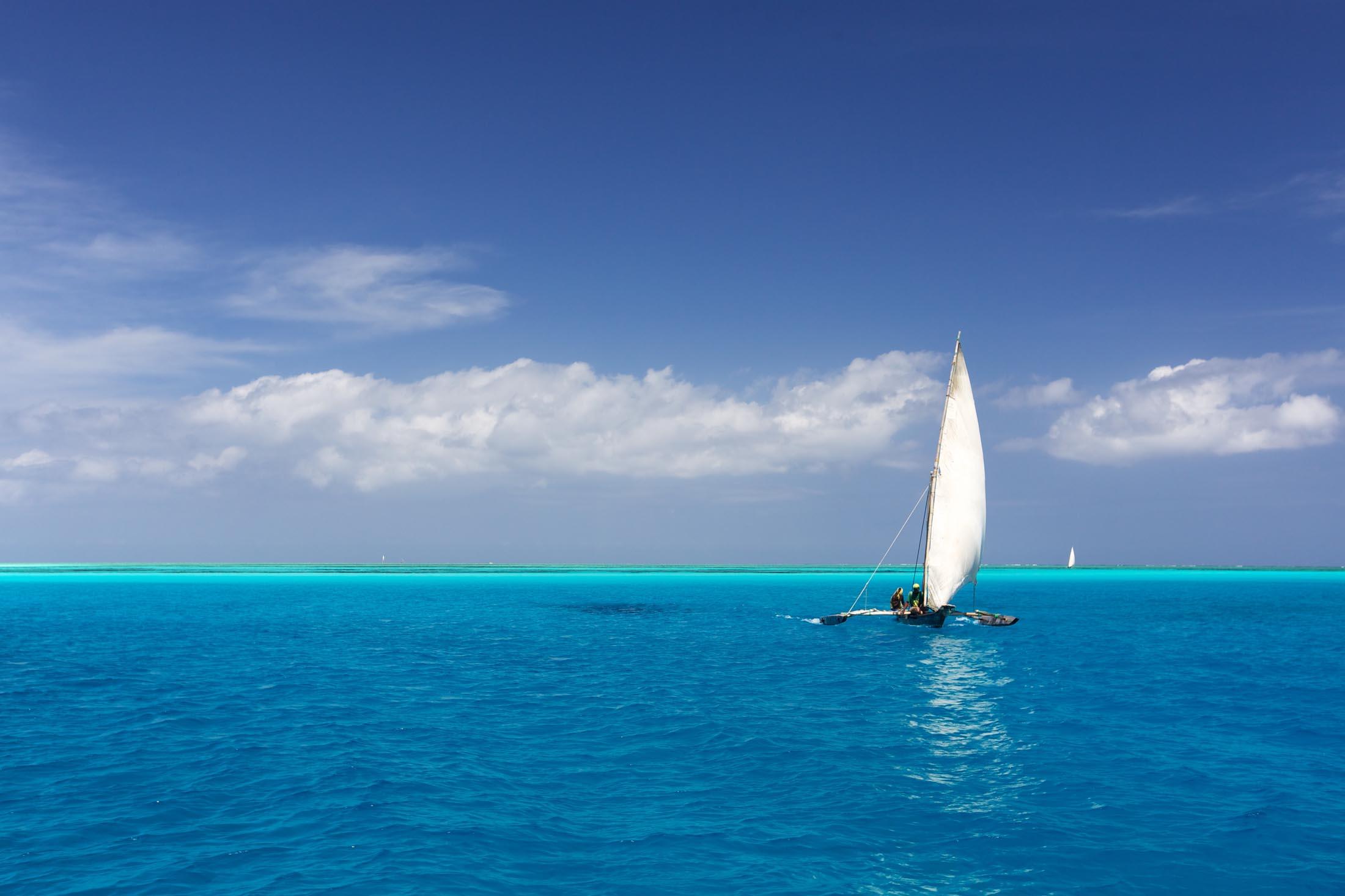 Sailing in Zanzibar, Tanzania