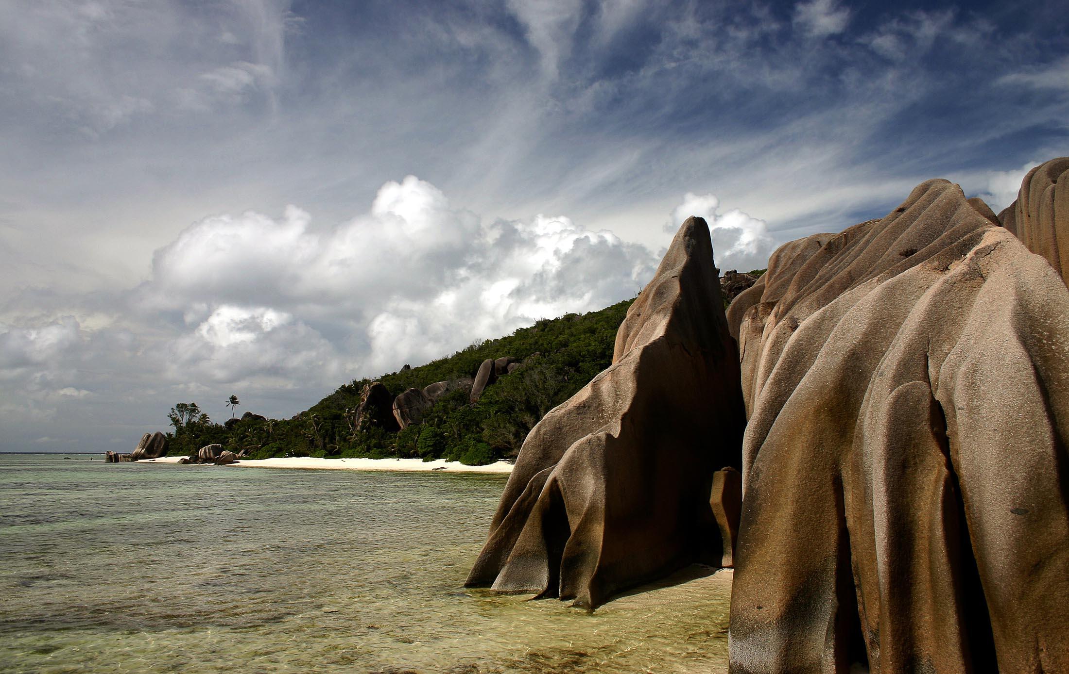 La digue beaches, Seychelles
