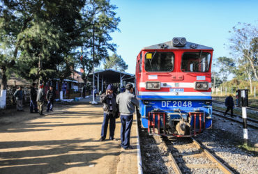 Train ride from Mandalay to Hsipaw