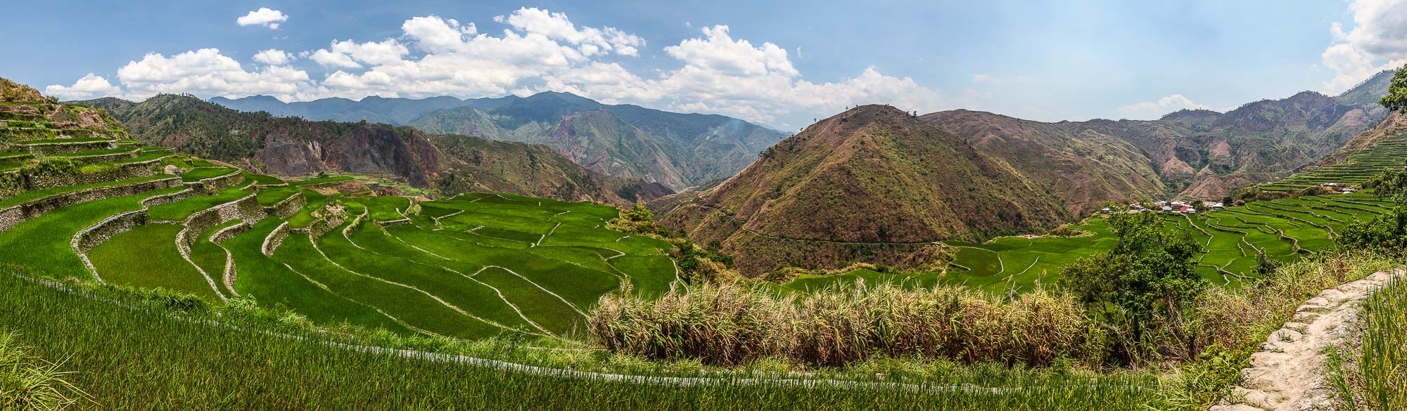 Prilippines tropical panoramas - Rice terraces of Northern Luzon