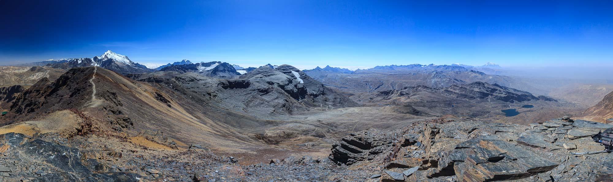 the world's highest ski resort - chacaltaya 5486m - bolivia
