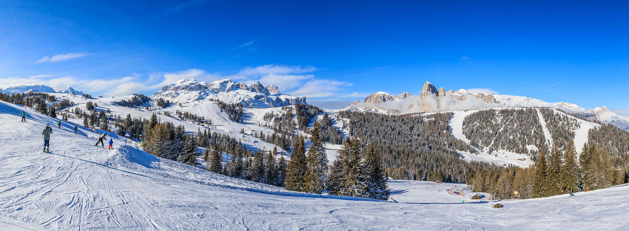 Dolomiti panorama - winter 2017 - Jus Medic