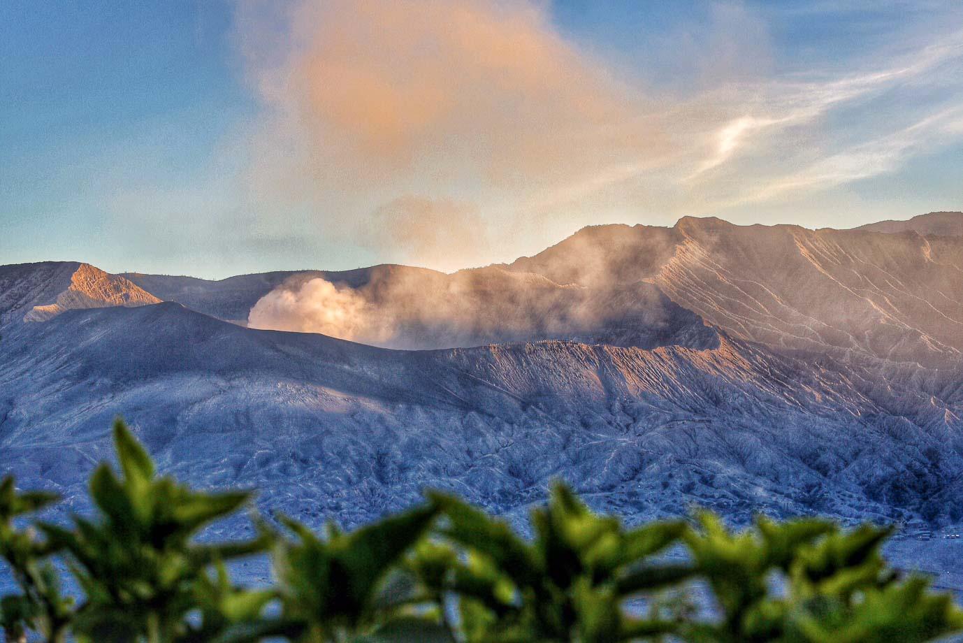 Mount Bromo crater rim - Jus Medic