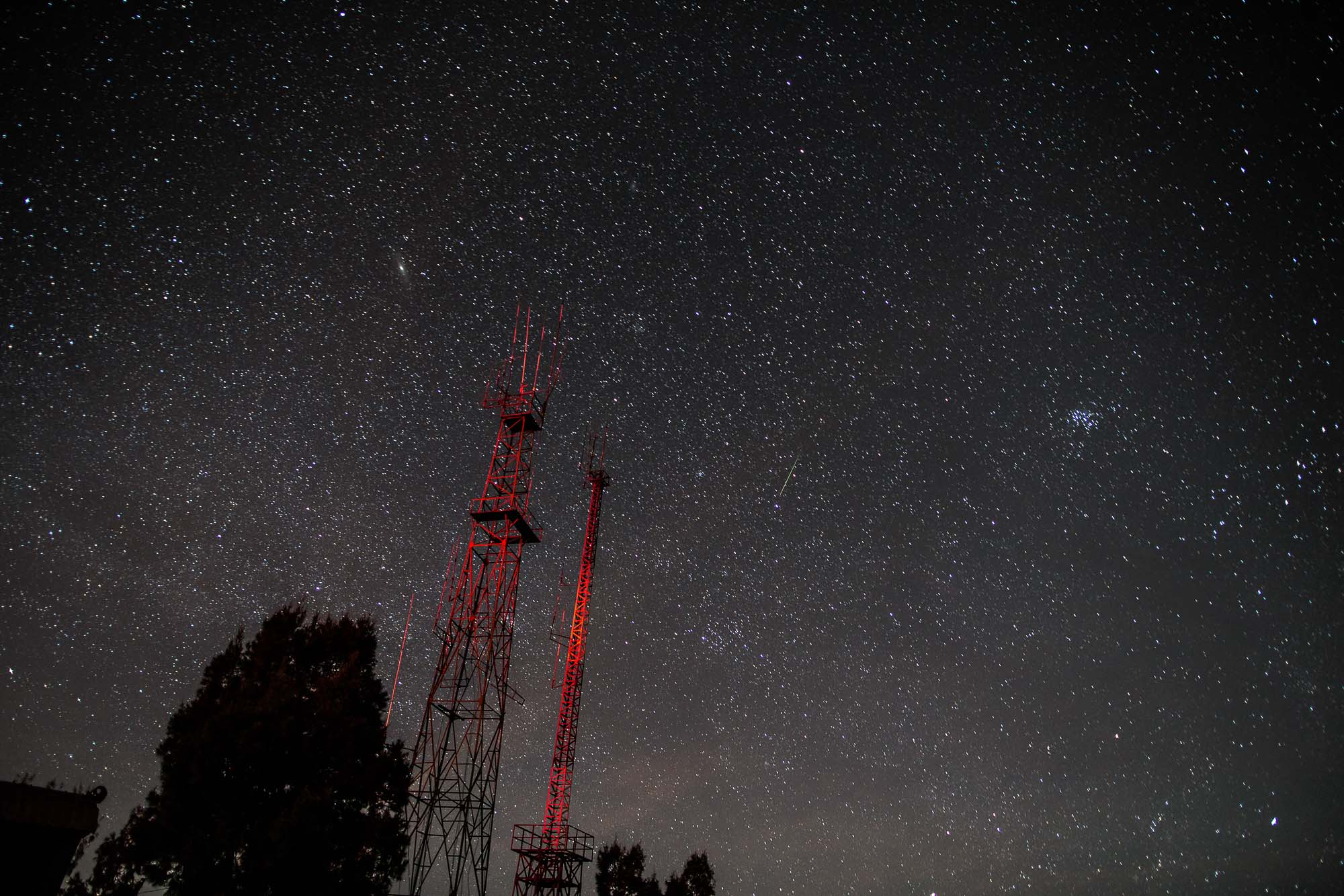 Night sky over Java at night - Jus Medic