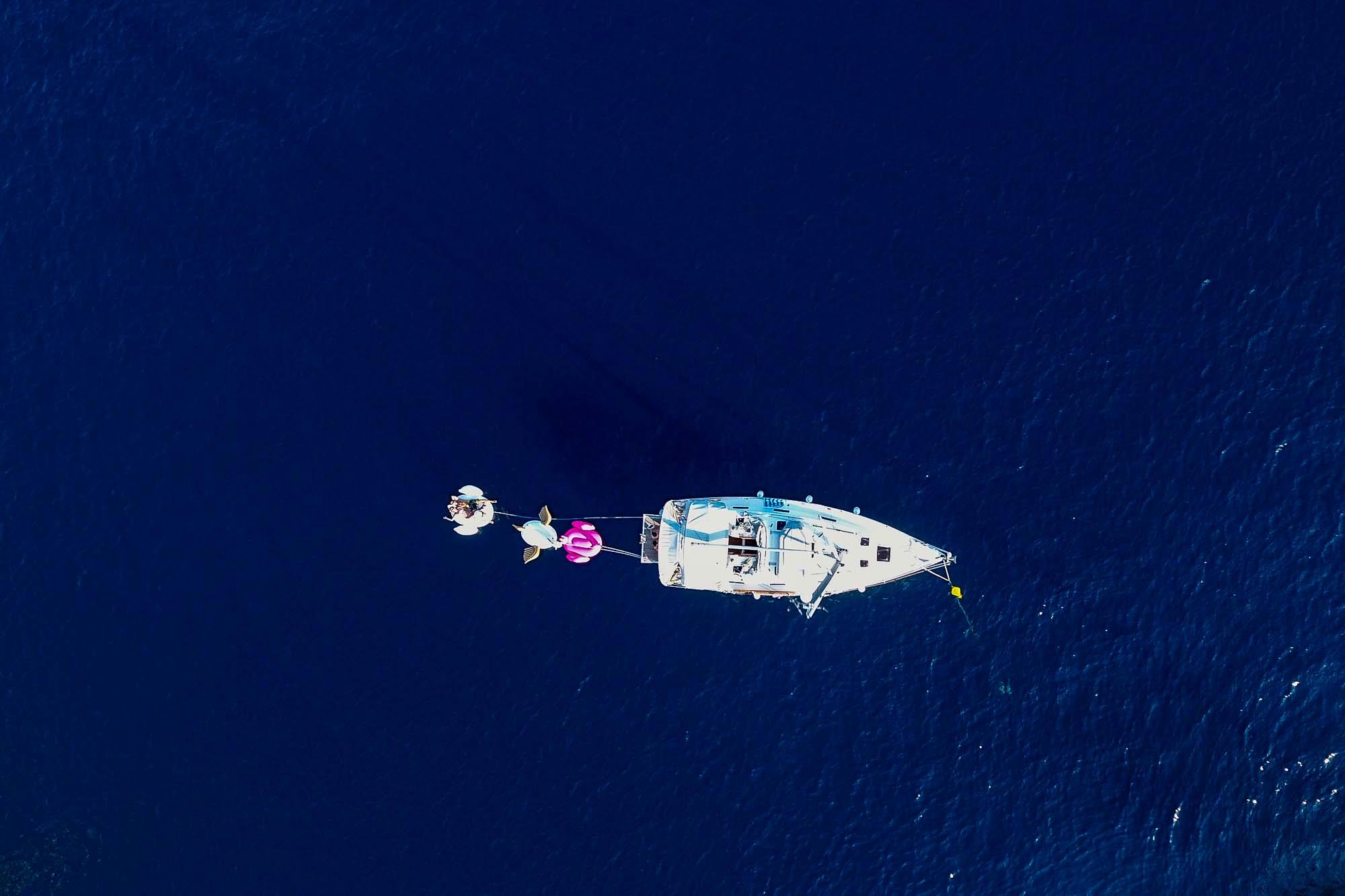 Dalmatia Sailing Aerials - Jus Medic