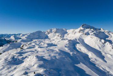 Skiing in Obertauern, Austria