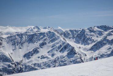 Skiing in Sölden, Austria
