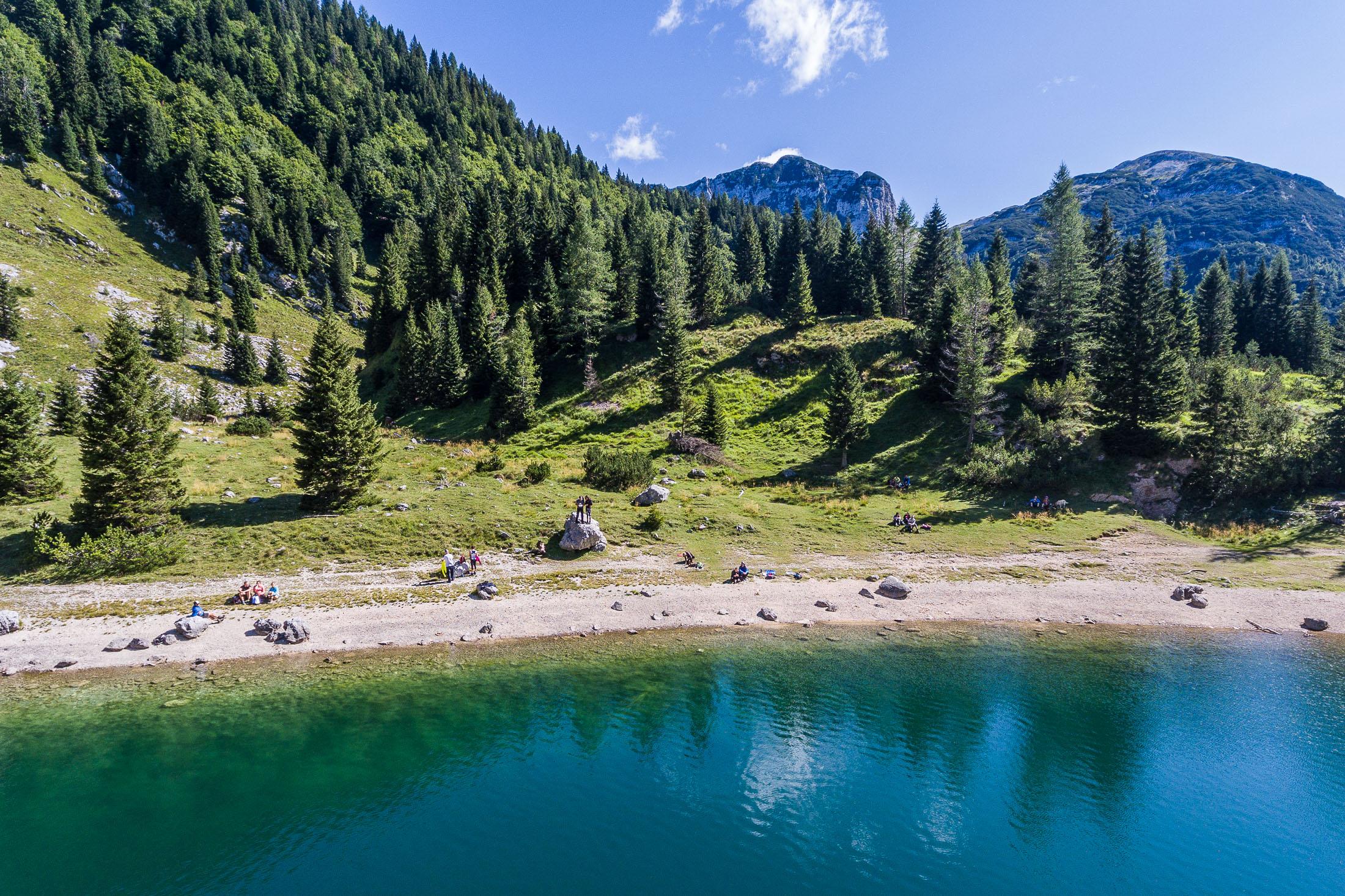 Krn lake, Slovenia