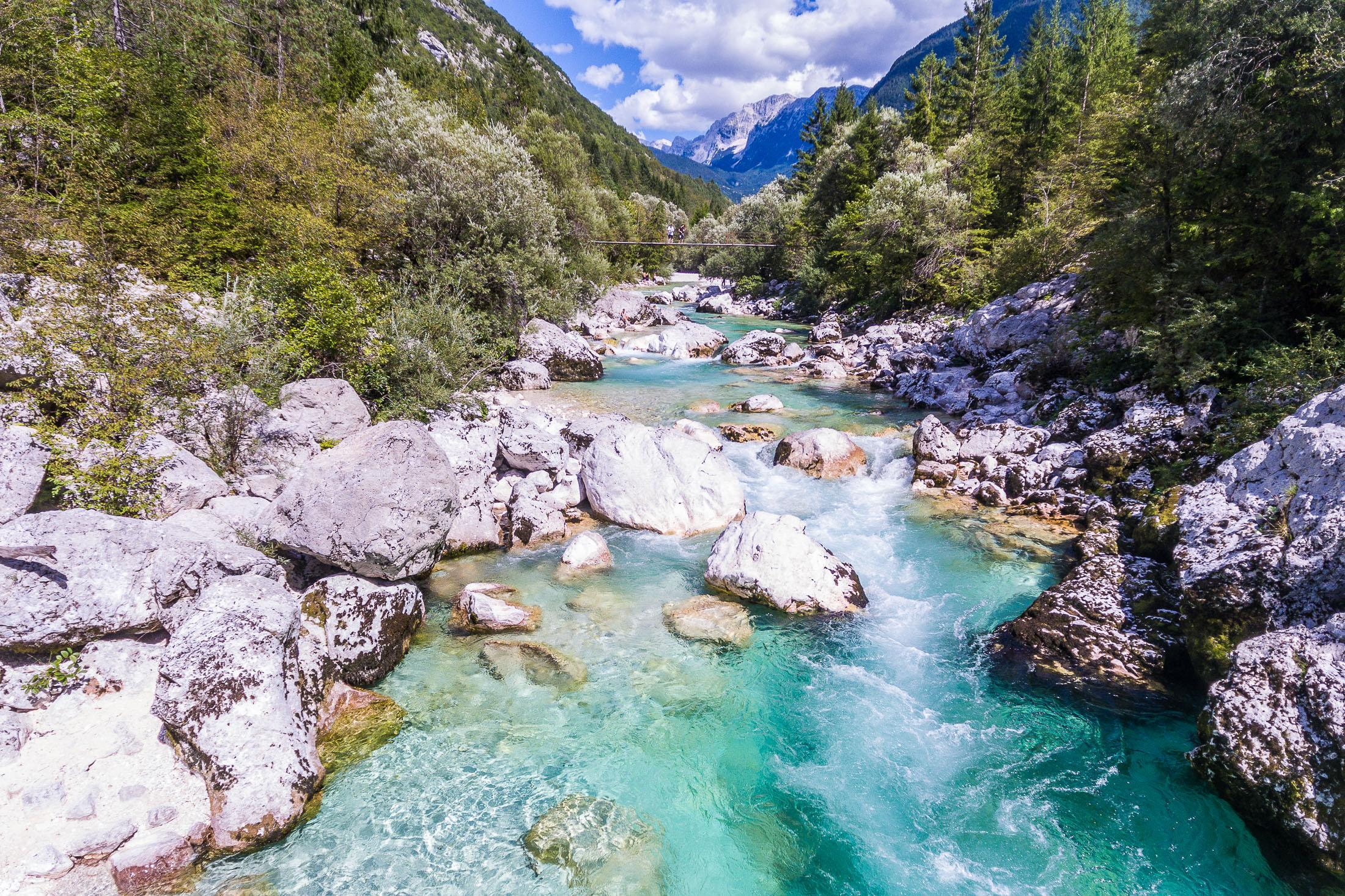 Soča river, Trenta, Slovenia