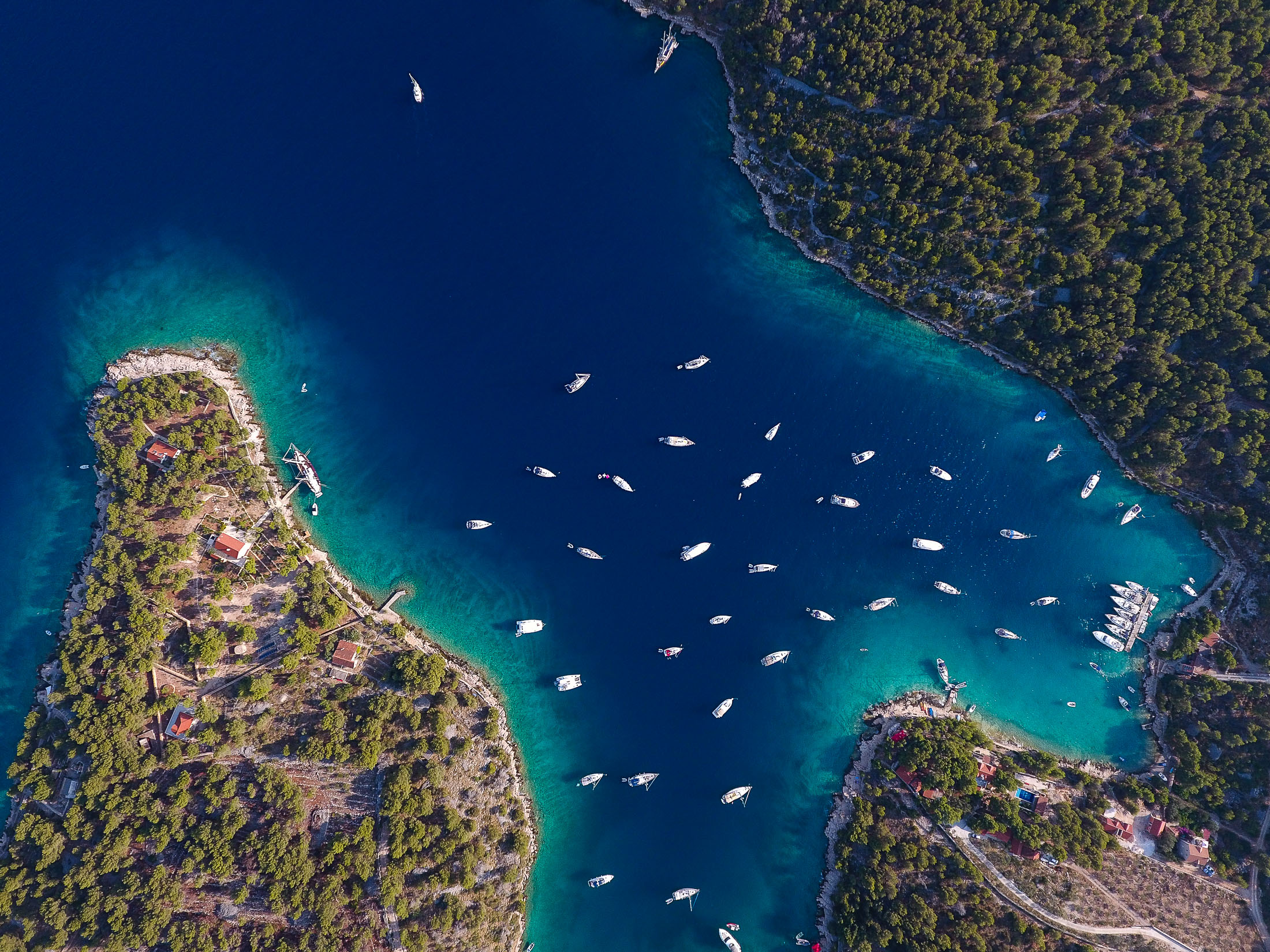 Hidden bays of Dalmatia, Croatia