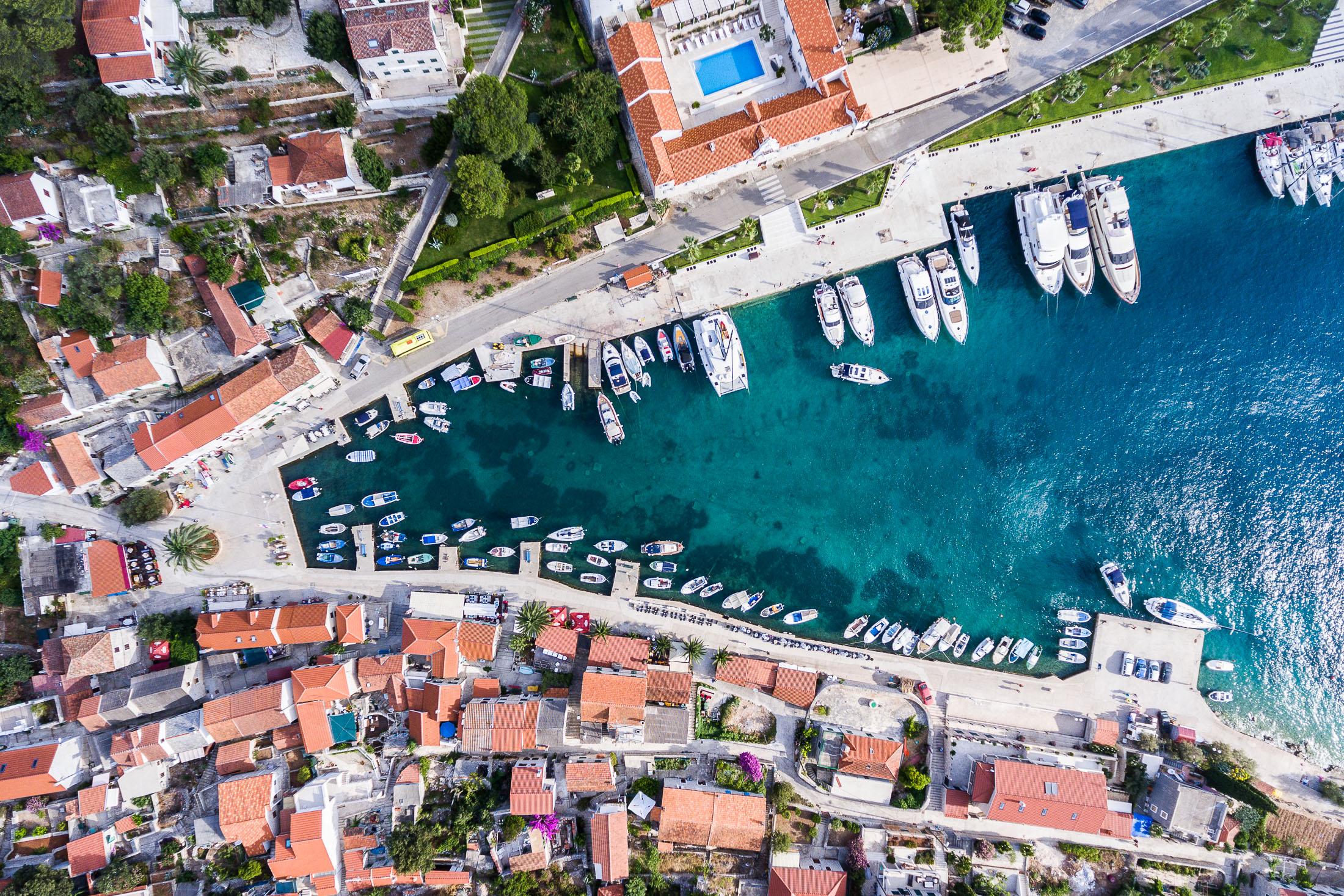 Maslinica, Šolta, Croatia