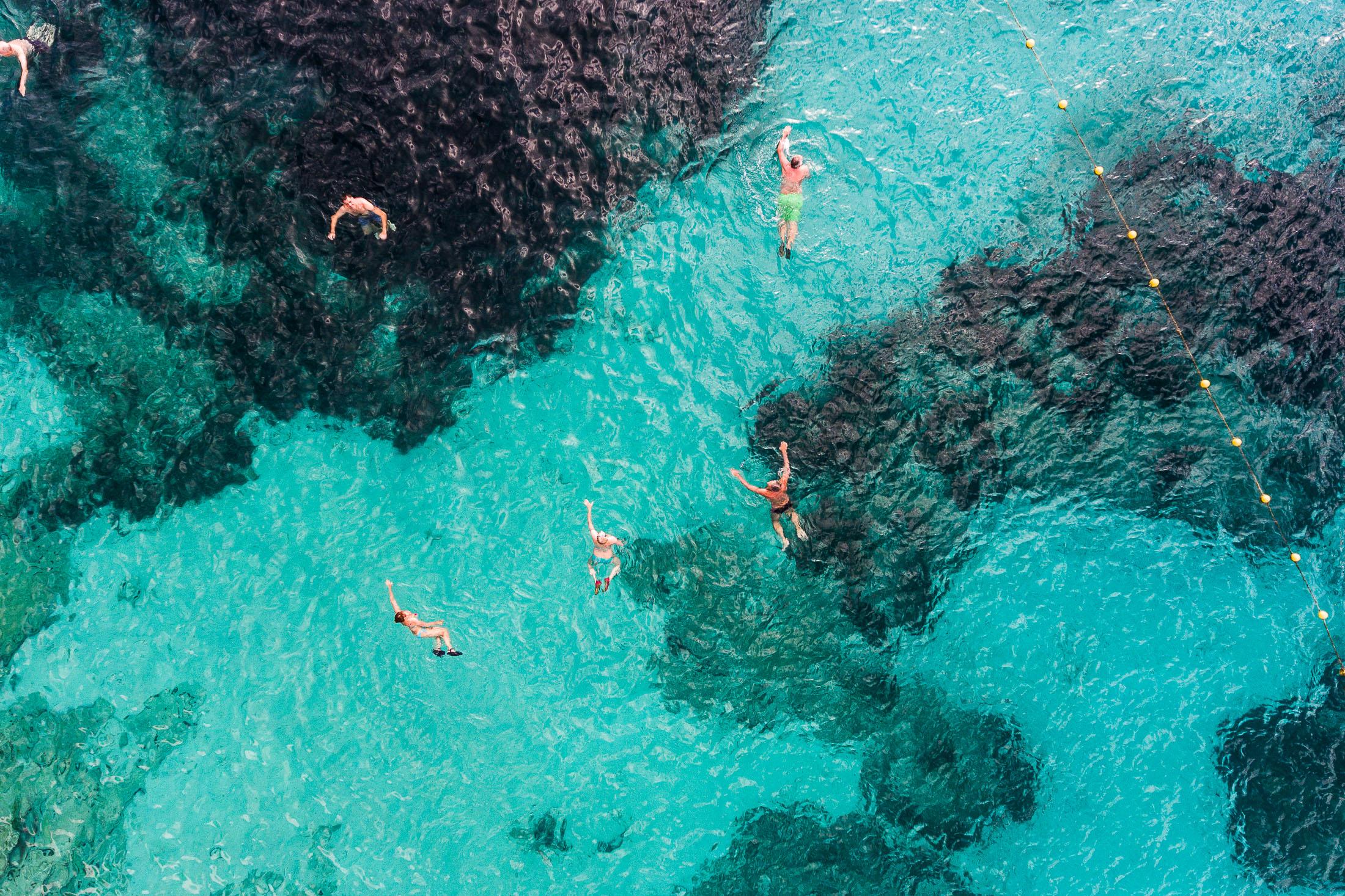 Swimmers, Croatia