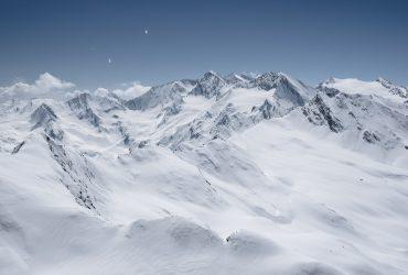 Skiing in Obergurgl, Austria