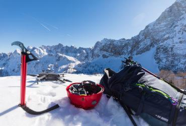 Winter in The Alps – Slemenova Špička from the AIR